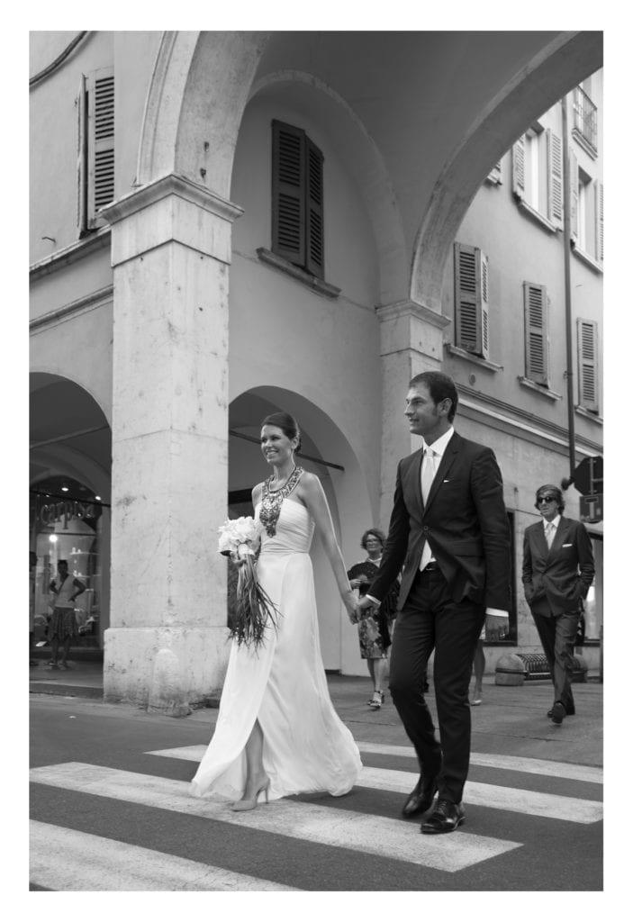 matrimonio in centro storico a Brescia