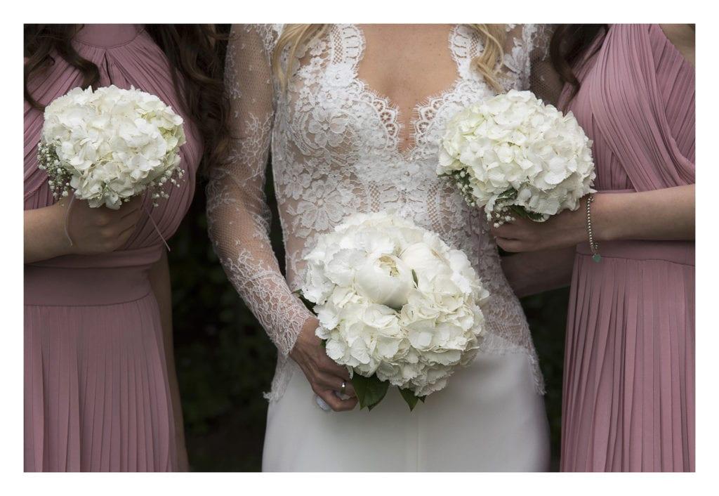 bouquets sposa e damigelle