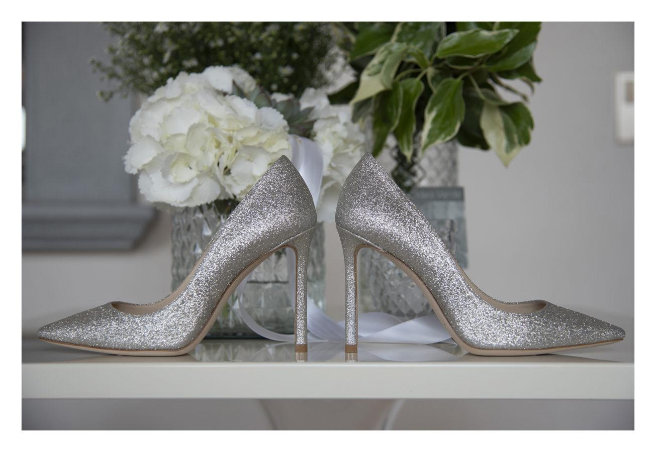 scarpe brillantini sposa jimmy choo