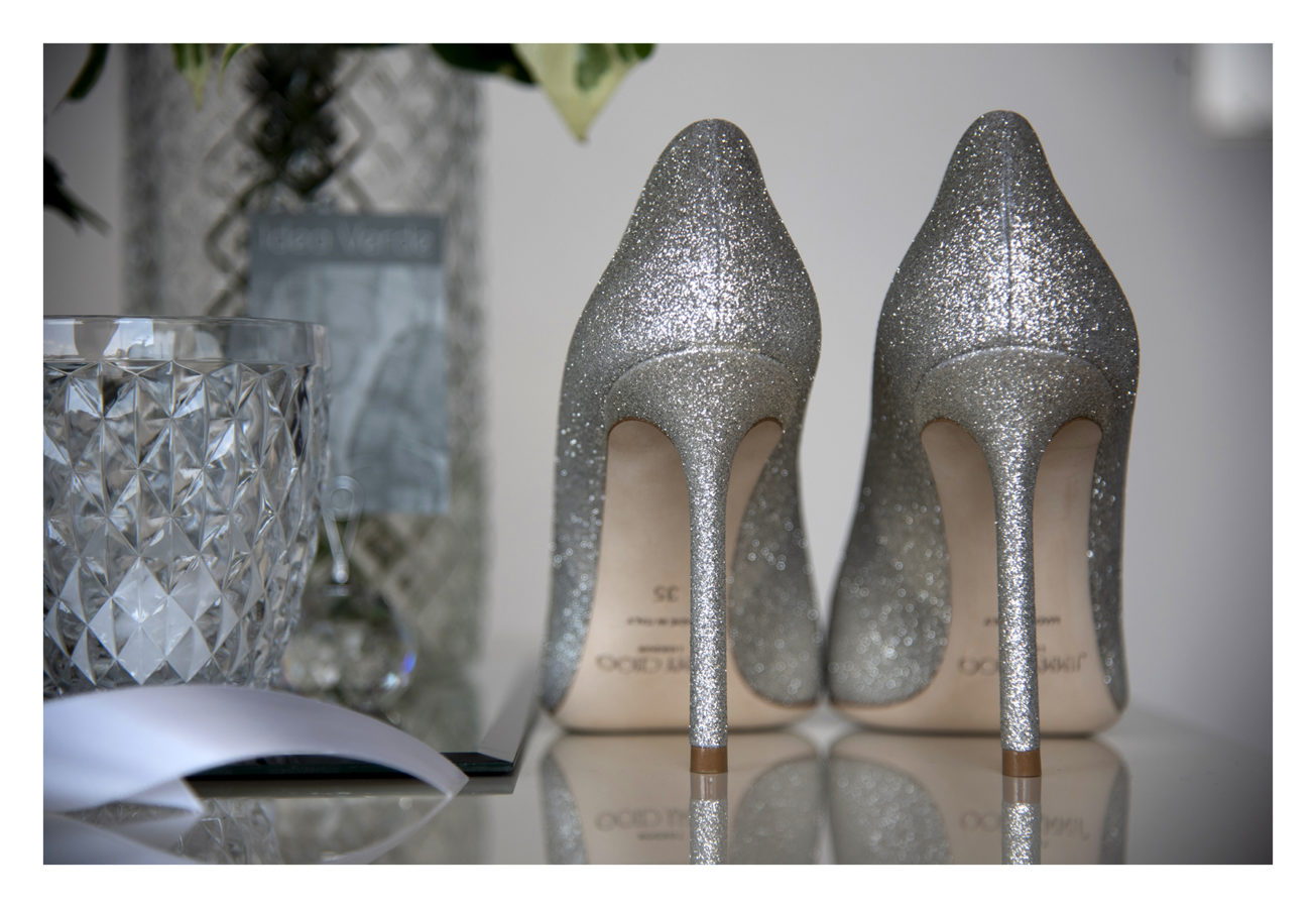 scarpe sposa jimmy choo argento