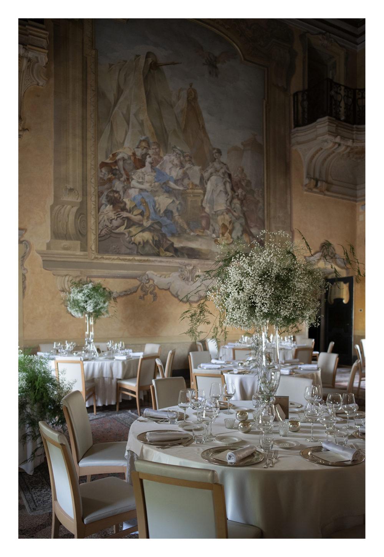 allestimento matrimonio villa zaccaria