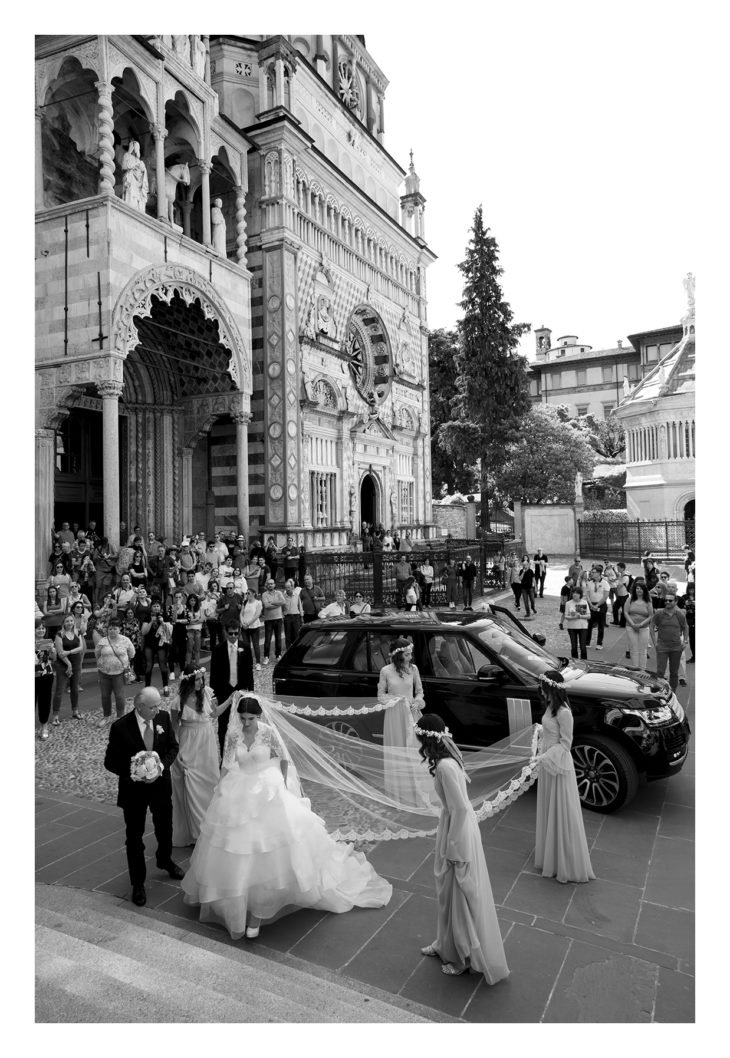 matrimonio elegante cattedrale di bergamo